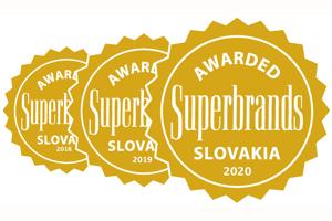 Darex získal už potretie prestížne medzinárodné ocenenie Superbrands Award.